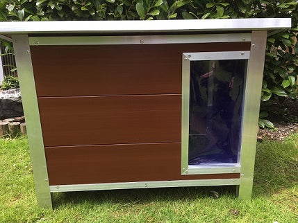 Medium: Paw Pad Brown Dog Kennel