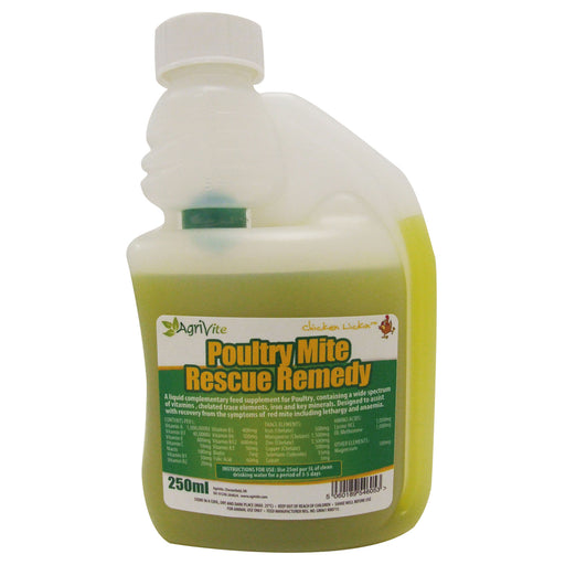 Poultry Mite Rescue Remedy 250ml