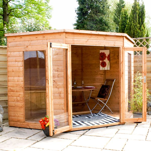 Corner Summerhouse 7 x 7