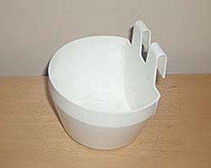 Plastic Cage Cup