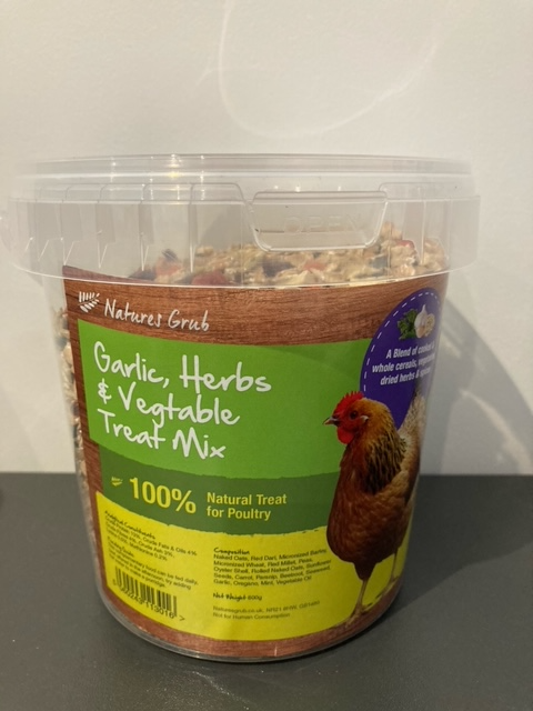 Garlic, Herbs & Vegetable Treat Mix 600g
