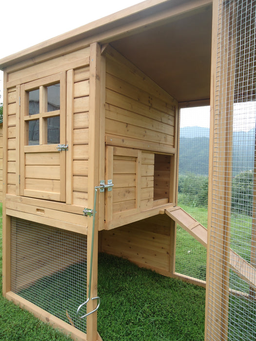 4 to 6 Hen Poultry Coop - CC048
