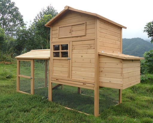 4 to 8 Hen Poultry Coop and Run - CC054 - Very Special Offer - SAVE £75
