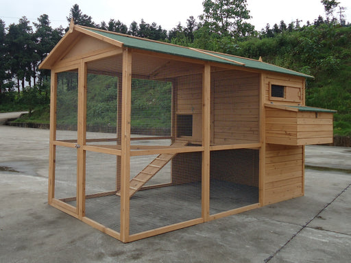 6 to 12 Hen Chicken Coop - CC058 - FREE DELIVERY - SAVE £150 - OFFER PRICE
