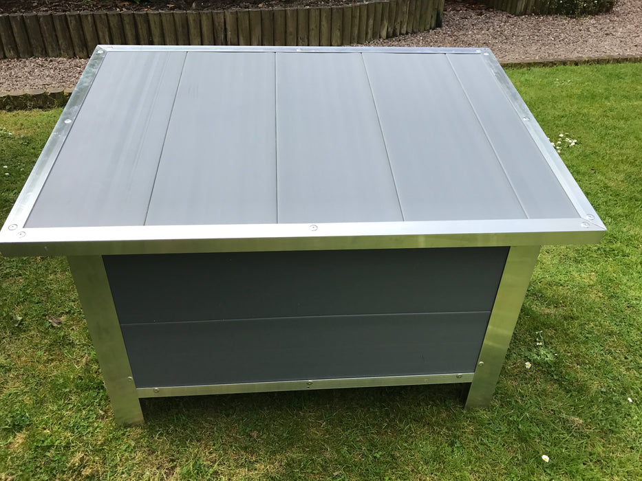 Paw Pad Dog Kennel Insulated Grey - XX Large Size