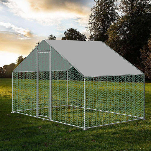 Metal Chicken Run 3m x 2m 25mm frame - IN STOCK