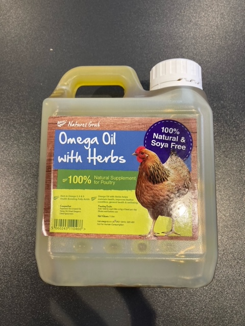 Omega Oil with Herbs