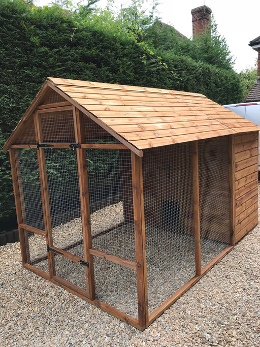 The Balmoral 6 to 18 Hens Chicken Coop or Duck House