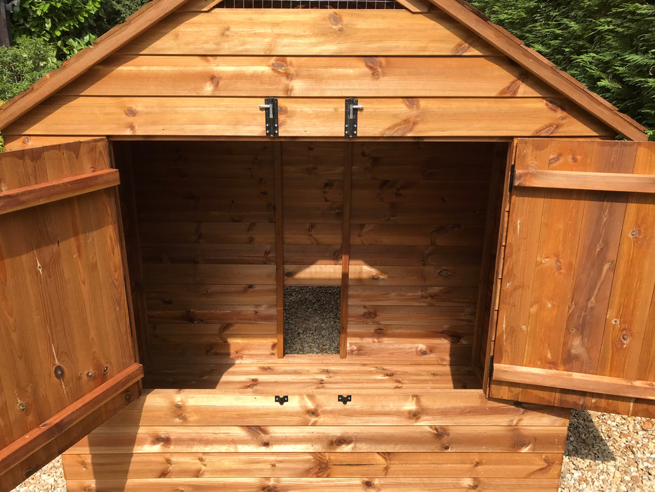 The Balmoral 6 to 18 Hens Chicken Coop or Duck House - New for 2019 - Introductory Price