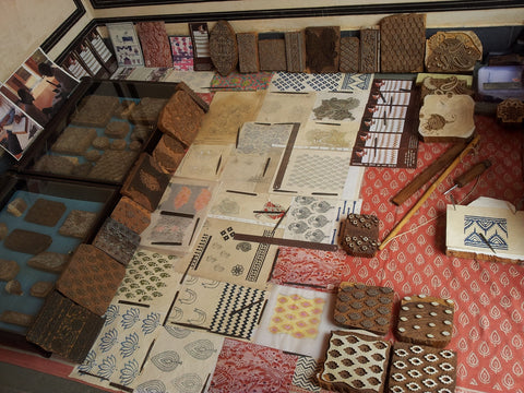 block printing selection