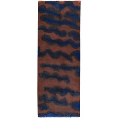 Gogo Paint scarf in pure wool