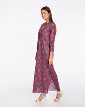 Load image into Gallery viewer, Long summer dress in light cotton for women - CHENNAI