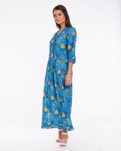 Load image into Gallery viewer, Long summer dress in light cotton for women - BANGALORE
