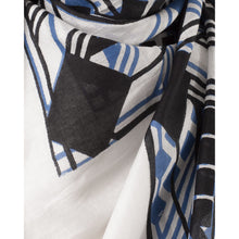 Load image into Gallery viewer, Foulard in cotton Abstract