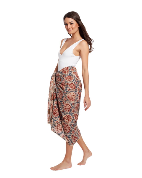 Sarong Pareo in cotton - NERUL