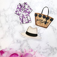 Summer Vibes Fashion Die Cut Set