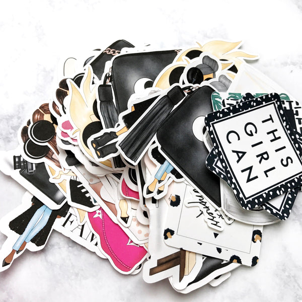 Oops Die Cut Bag | 4 Imperfect Die Cuts