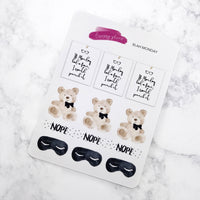 Blah Monday Planner Stickers