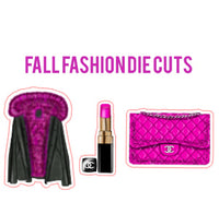 Fall Fashion Die Cut Set