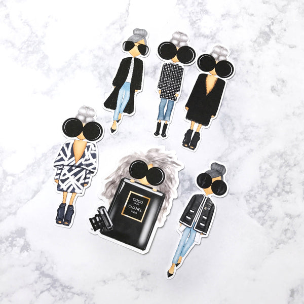 Fashion Girl Die Cuts