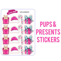 Pups & Presents Planner Stickers