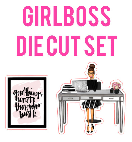 Girlboss Die Cut Set