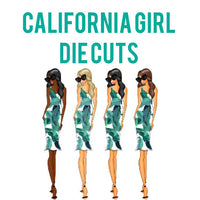 California Girl Die Cuts
