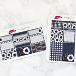 Preppy Girl Personal Wide Planner Stickers