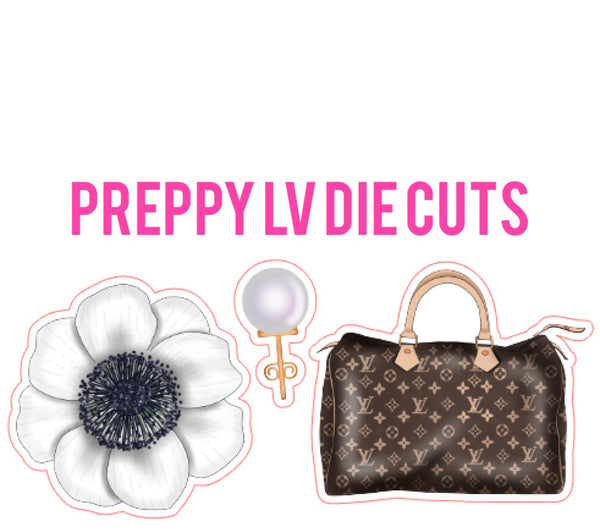 Preppy LV Die Cut Set