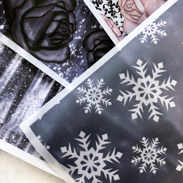 Snowy Nights Vellum