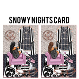 Snowy Nights Card Die Cut