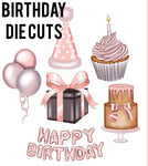Birthday Die Cuts
