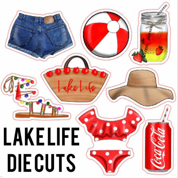Lake Life Die Cuts
