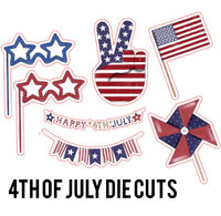 4th of July Die Cuts