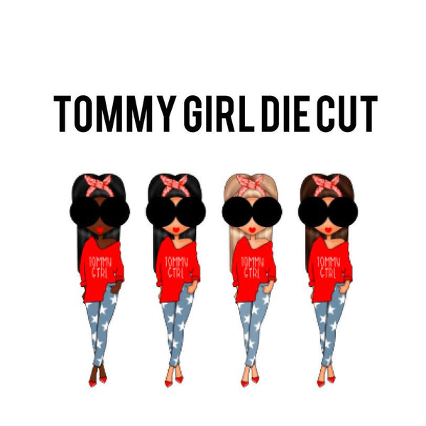 Tommy Girl Die Cuts