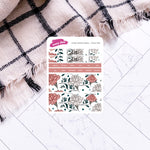 Yoga Girl | Hobonichi Weeks Index Sticker Kit