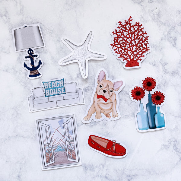 Beach House Die Cuts