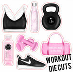 Workout Die Cuts