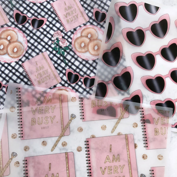 Sweet & Chic Vellum