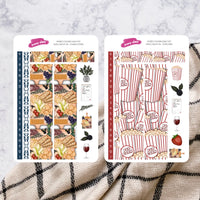 Girls Night In | Hobonichi Cousin Daily Sticker Kit