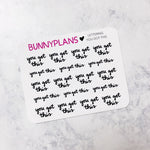 You Got This Lettering Mini Planner Stickers