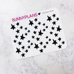 Star Doodles Mini Planner Stickers