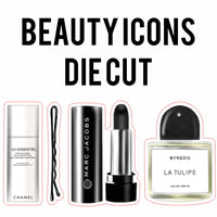 Beauty Icons Die Cuts