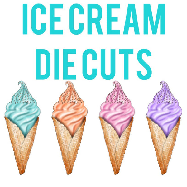 Ice Cream Cone Die Cuts