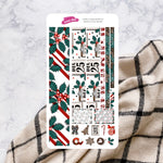 Santa's Little Helper | Hobonichi Cousin Monthly Sticker Kit
