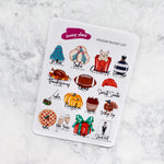 Holiday Bucket List Planner Stickers