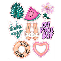 Tropical Vibes Die Cuts