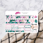 Tropical Vibes | Hobonichi Cousin Weekly Sticker Kit