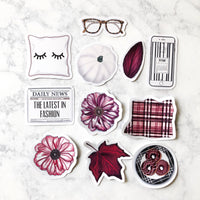 Lazy Fall Sundays Die Cuts
