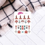Yoga Girl Planner Stickers